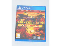 SONY PLAYSTATION PS4 GAME AIR CONFLICTS VIETNAM ULTIMATE EDITION 3D ARMY PAL 16.