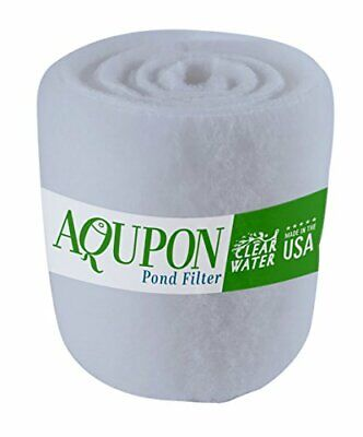 Koi Pond Filter Media Pad Fish Ponds Filters Pads Cut to Fit Roll 12 ft Dye Free