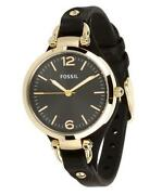 Womens Fossil Watch Black
