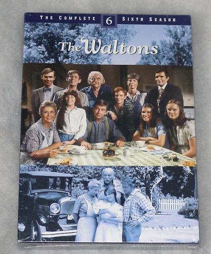 The Waltons Complete Season 6 Sixth - DVD Box Set NEW SEALED