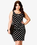 Forever 21 Polka Dot Dress