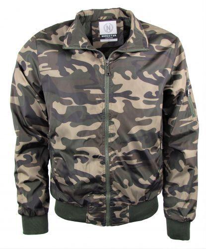 Herren Jacke Windbreaker  -  Outdoor  Jacke - Tarnfarben Style - camouflage