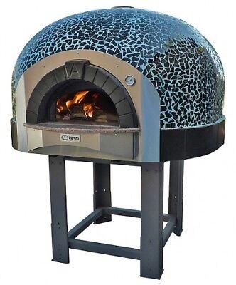 Mosaic Wood Burning Pizza Oven