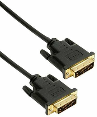 10' Dual-link (10m DVI-D Dual Link Kabel 24+1 Stecker Stecker digital PC Kabel Full HD vergold)