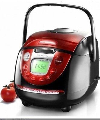 Robot cocina olla programable Profesional con voz + 1 NOCHE DE HOTEL PARA 2