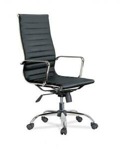 Eames Ribbed Office Chair - Low & High Back Available