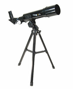 New In Box ! National Geographic 50-mm AZ Refractor Telescope