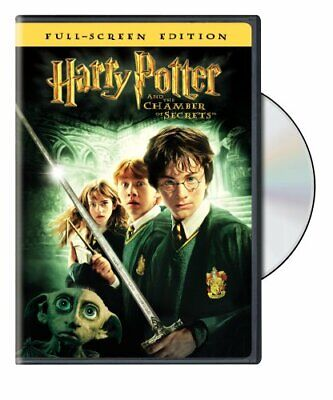Harry Potter and the Chamber of Secrets (Full Screen Edition) [DVD] NEW!