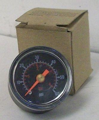 General Purpose 1.5 Pneumatic Pressure Gauge 0-60 Psi 14 Connection