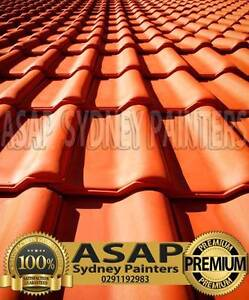 ROOF PAINTING ROOF REPAIR , REPOINTING, FREE QOUTE ALL SYDNEY Blacktown Blacktown Area Preview