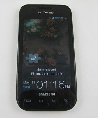 (Samsung SCH-i500 Fascinate Verizon Cell Phone Email + Home Chargr)