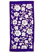 Flower Bath Towels