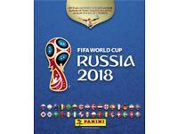 Fifa World Cup Russia 2018 sticker swops