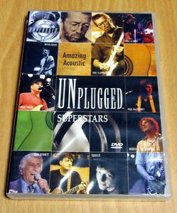 MTV Unplugged Superstars NEW DVD Eric Clapton, Bryan Adams, Paul McCartney