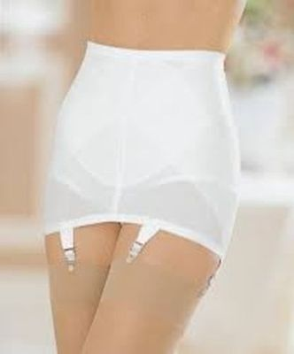 Cortland Firm Control Open Bottom Girdle Garters  sizes med - 6xl (Firm Control Open Bottom Girdle)