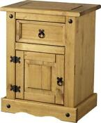 Pine Bedside Draws