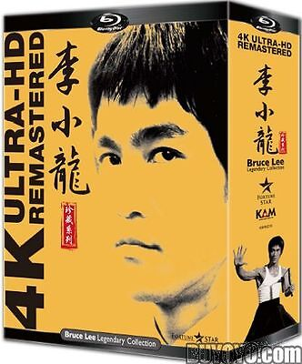 Bruce Lee Legendary Collection (4K Ultra HD Remastered) (4 Blu-ray Boxset)