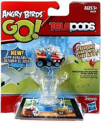 "Angry Birds GO! Telepods Grey Birds Kart 6.3 x 5.5 x 1.4""  Boys 5 yrs + New 2013"