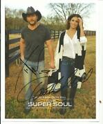 Tim McGraw Autograph