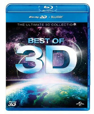 Best of 3D The Ultimate 3D Collection Blu-ray 3D + Blu-ray 2013 Region Free