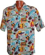 Mens Hawaiian Shirt Medium