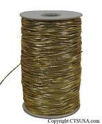 Gold Elastic Cord