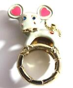 Betsey Johnson Mouse Ring