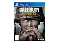 Call of Duty - WWII *SEALED* Sony PS4 PlayStation 4 Game (BRAND NEW)