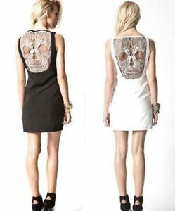 Skull dress ebay skull lace dresses gumiabroncs Gallery
