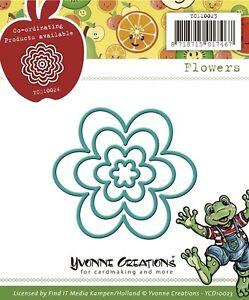 Stanzschablone , Blume verschiedene Größen, Scrapbooking, Basteln,Big Shot