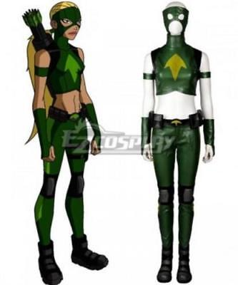 New!Anime DC Young Justice Artemis Crock Cosplay Costume Clothes (Artemis Costumes)