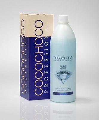 COCOCHOCO PURE Brazilian Blow Dry Keratin Straightening Treatment 1 Litre KIT