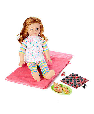 Laurent Doll 18 inch Doll Sleepover Party Outfit Accessory Set for American Girl