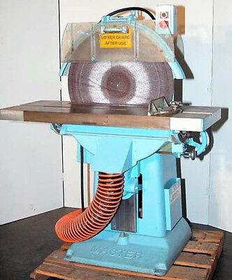 Master 24 Inch Model R Disc Sandergrinder Sn 6144 Inv. 3736
