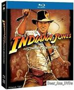 Indiana Jones Complete Collection Blu Ray