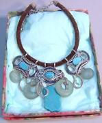 Chicos Turquoise Necklace