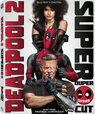 Deadpool 2 [New Blu-ray] With DVD