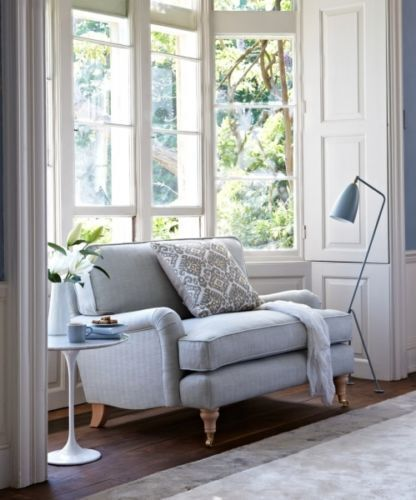 How to reupholster your loveseat or sofa ebay - How to reupholster a living room chair ...