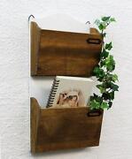 Zeitungshalter Holz