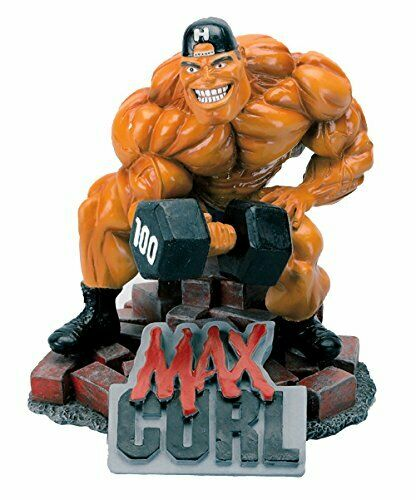 New MAX Curl Xtreme Figurine Bodybuilding Weightlifting Collectible Statue
