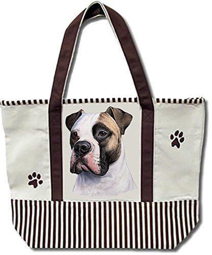 American Bulldog Pet Shopping Tote