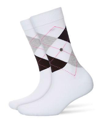 Burlington Queen Socken Damen Argyle One size fits all (Gr. 36-41)