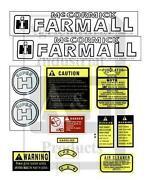 Farmall H Decals