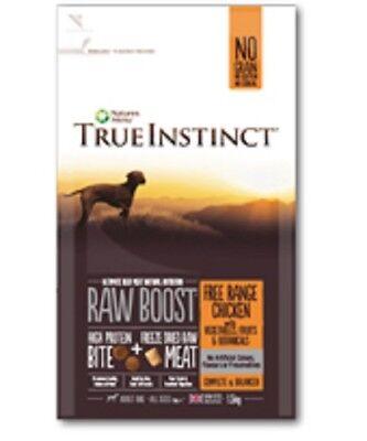 Natures Menu Adult True Instinct Raw Boost Chicken Dry Complete Dog Food 5kg