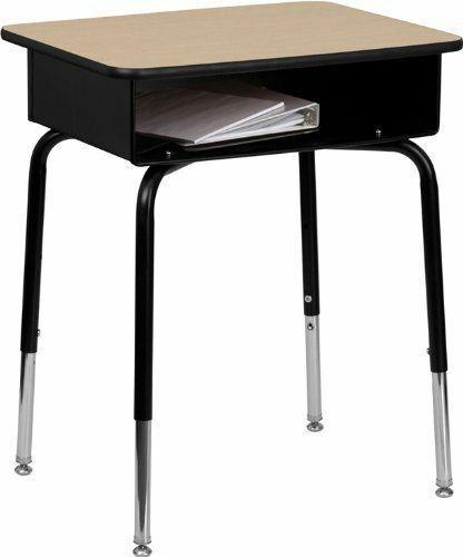 Elementary School Systems Tend To Use An Open Front Desk Style This Stands On Four Legs With Place Books And Other Supplies