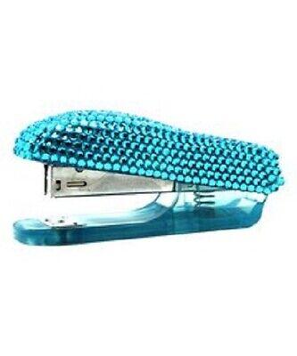 Hype Jewel Stapler Blue Bling Brand New In Box Nib