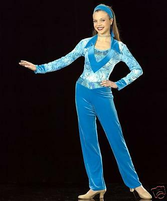 Reduced HEARTBREAKER Disco Dance Costume Competition Adult Small & - Disco Dancewear