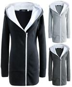 Womens Plus Size Long Coats