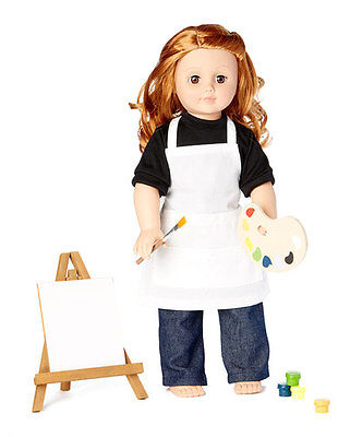 Laurent Doll 18 inch Doll Artist Outfit Accessory 11-piece Set for American Girl