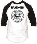 Ramones Baseball Shirt
